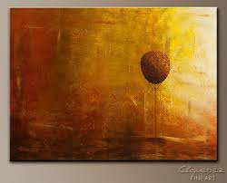 otoño abstract art painting image by carmen guedez
