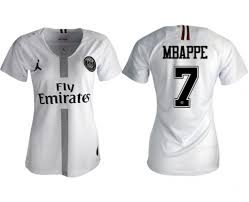 2019 Artfire Hongsnow Germain Soccer Women's Kylian Saint On Mbapp� Paris Jersey White