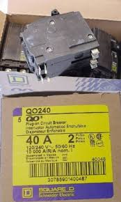 circuit breakers and fuse boxes 20596 square d by schneider Square D Fuse Box circuit breakers and fuse boxes 20596 box of 5 nos qo240 square d circut breakers square d fuse box wiring