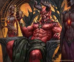 Demon by Johnny Morrow
