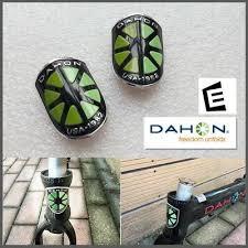 DAHON HEADTUBE BADGE <b>1</b>/<b>PC</b> NEW <b>FREE SHIPPING</b> | eBay