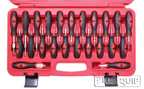 plusquip eqp 004 electrical terminal release kit 23 piece this professional