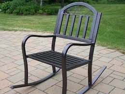 black iron outdoor furniture. Furniture Modern Patio And Black Glaze Metal With Carved Backrest Placed Concrete Slate Iron Outdoor
