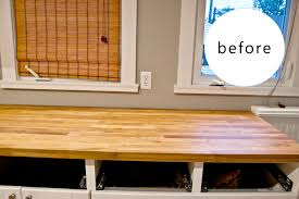 Diy Kitchen Countertops Diy Distressed Wood Counter Jessepeckwrites