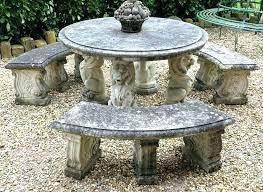 round garden bench round garden table reconstituted stone round garden table and bench set garden table mass ave round garden table