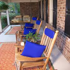 fine pillows royal blue sunbrella outdoor throw pillow 16 in x 16 and patio furniture pillows c