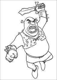Small Picture Coloring Page Shrek 4 coloring pages 15