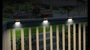 Clip On Solar Deck Lights Solar Deck Lights Set Of 3
