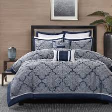 Bed Linen: amusing navy and silver bedding Blue And Taupe Bedding ... & ... Navy And Silver Bedding Solid Navy Blue Comforter Navy Comforter  Comforter Sets: ... Adamdwight.com