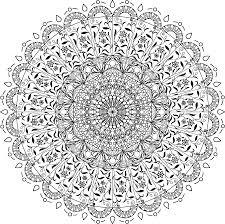 Mandala Da Colorare Disegno Clip Art Clipart Di Mandala 40003999