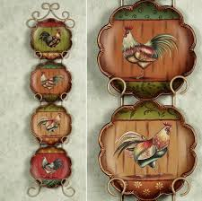 Rooster Wall Decor Kitchen Kitchen Rooster Themed Kitchen Pots Ideas What Makes Rooster