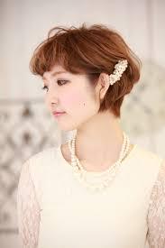 髪型 ショート 花嫁 Sanpatsu