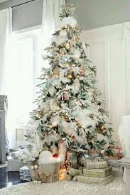 <b>Christmas</b> Tree <b>decorated</b> with snow feathers & pastel <b>color balls</b> ...