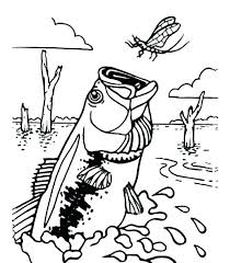 Printable Fish Coloring Pages Innovative Fishing Colouring Pages