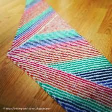 Striped Scarf Knitting Pattern Awesome Ideas