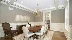 Transitional Dining Room with Global Views Arabesque Rug - Mocha, Hardwood  floors, Force Dining