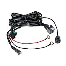 kc lights wiring harness automotive parts online com top longer dt connector 40a off road atv jeep led light bar wiring harness