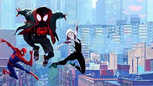 Gwen stacy from the movie: Hd Wallpaper Movie Spider Man Into The Spider Verse Miles Morales Spider Gwen Wallpaper Flare