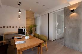 office feature wall ideas. perfect wall remarkable divider wall with door design with large translucent glass  and painted white brick in office feature ideas o