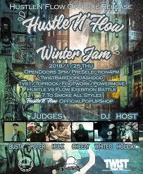winter jam flyer 2018 hustle flow winter jam 2018