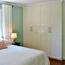 add moulding and frames to built in cupboard closet doors