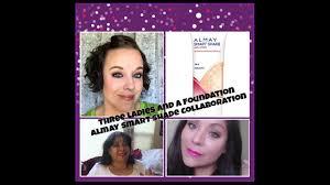 three las one foundation almay smart shade anti aging skintone matching makeup