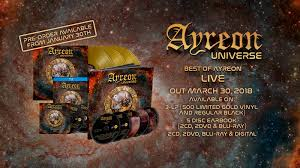 ayreon universe best of ayreon live