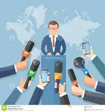 Risultati immagini per conferenza stampa giornalisti