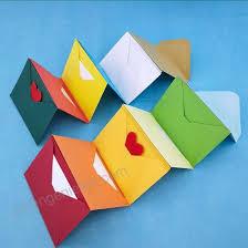 Supla 140 Pcs Mini Envelopes 14 Colors Gift Card Envelopes 4 X 27