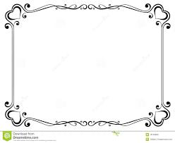Decorative Borders For Word Similiar Fancy Heart Borders And Frames Keywords