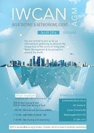 networking flyer event flyer agm 2016 18 09v3 international watercentre alumni network