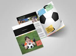 soccer team brochure template soccer camp brochure template mycreativeshop