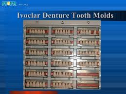 Abundant Ivoclar Denture Teeth Mould Chart 2019