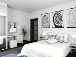 ultra modern bedrooms white. Contemporary White Ultra Modern White Bedroom Abstract Art On Modern Bedrooms White Designing Idea