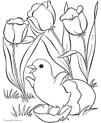 Easter Coloring Pages For Kid 007