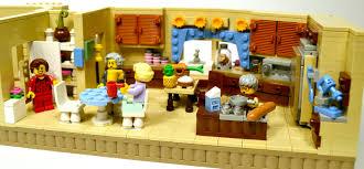 Lego Full House Lego Ideas The Golden Girls Living Room And Kitchen Modular Set
