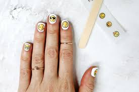 Emoji Nail Decal DIY – A Beautiful Mess