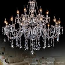 modern chandelier crystal lighting cristal lamp chandeliers hanging lights clear glass chandelier led light for home restaurant stained glass chandelier