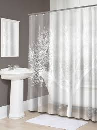 Contemporary Shower Curtains Plastic