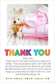 Baby Gift Thank You Note Printable Thank You Notes For Baby Gifts Download Them Or Print