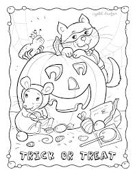Small Picture Happy October Coloring Page GetColoringPagescom