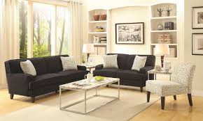 Transitional Style Living Room Furniture Buy Finley Transitional Styled Sofa With Track Arms By Coaster