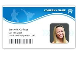 Photo Id Template Free Download Student Id Card Template