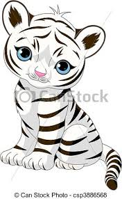 white tiger cubs drawing. Modren Drawing Cute White Tiger Cub  Csp3886568 For White Tiger Cubs Drawing I