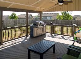 covered patio deck designs. Delighful Deck Covered EverGrain Cape Cod Grey Deck With Arc Balusters And Herring Bone  Decking Design On Patio Designs E
