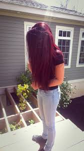 Loreal Chroma Garnet Red Hair Color Violet Hair Colors