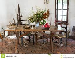 Old Fashioned Kitchen Table Old Fashioned Kitchen Stock Photos Image 25302293