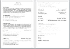 What To Put On A Cv Perfect Resume Format