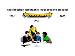 Retrospect Theme Powerpoint 2010 Ppt Radical School Geography Retrospect And Prospect Powerpoint