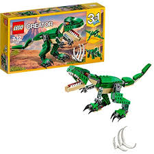 lego 31058 creator mighty dinosaurs toy 3 in 1 model triceratops and pterodactyl dinosaur